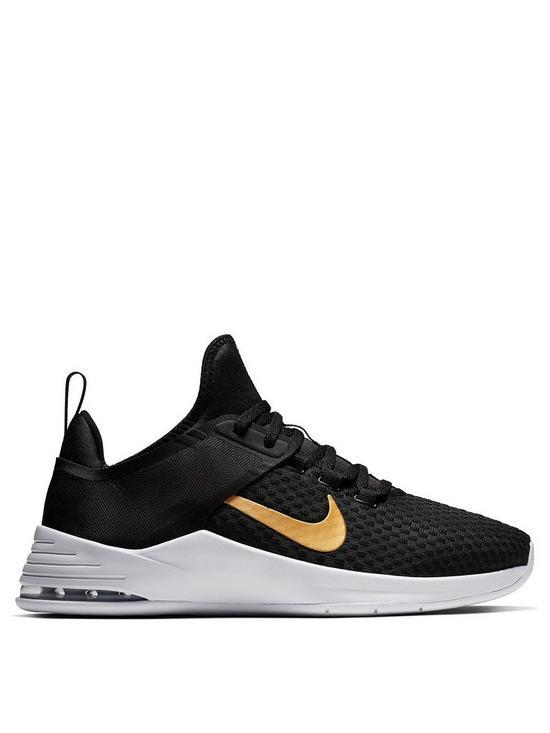 half off 3902d 6d999 Nike Air Max Bella Tr 2 - Black Gold