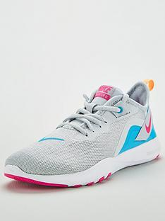 uk availability f46a0 51401 Nike Flex Trainer 9 - White Blue