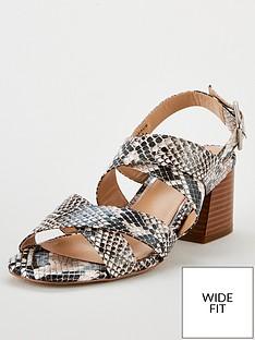 v-by-very-genova-wide-fit-strappy-block-heel-sandals-snake