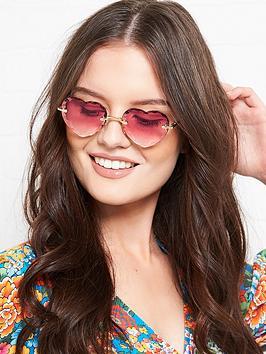 chloe-heart-shaped-gradient-lens-sunglasses-pink