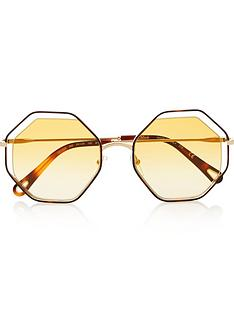 chloe-cut-out-octagon-havananbspsunglasses-yellow