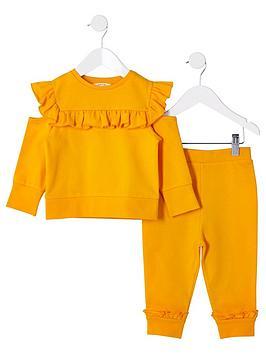 river-island-mini-mini-girls-sweatshirt-outfit-yellow
