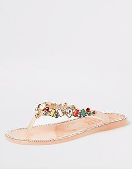 river-island-girls-gem-embellished-jelly-flip-flops-pink