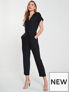 oasis-elasticated-back-d-ring-jumpsuit-black