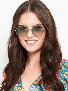 longchamp-octagonal-gradient-lens-sunglasses-gold