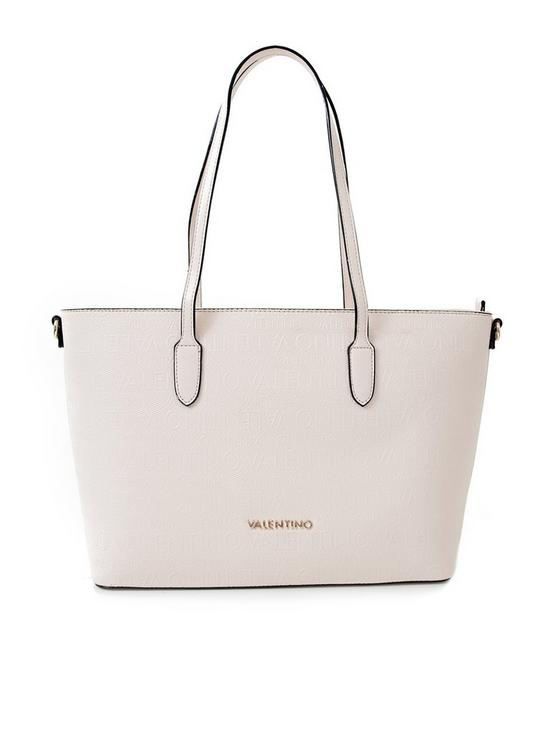 c2fa060f924 Valentino By Mario Valentino Dory Tote Bag - Stone | very.co.uk