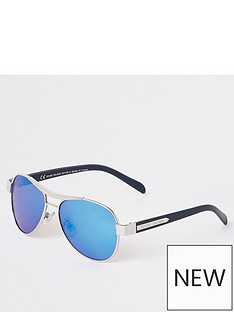 river-island-boys-aviator-sunglasses-silverblue