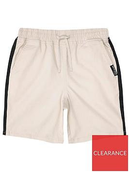 river-island-boys-tape-straight-shorts-stone