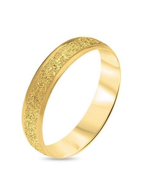 love-gold-9ct-gold-diamond-cut-sparkle-4mm-d-shape-wedding-band