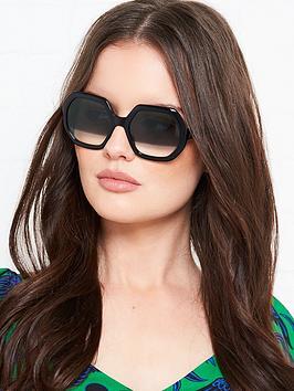 longchamp-geometric-two-tone-lensnbspsunglasses-black