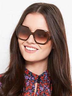 longchamp-squared-geometric-sunglasses-brown