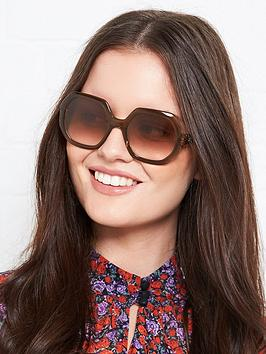 longchamp-squared-geometric-sunglasses-brown