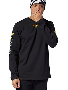 reebok-classic-vp-long-sleeve-tee-black