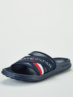 dfa74ee7a073 Tommy Hilfiger Splash Cross Strap Slider