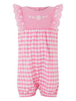 monsoon-newborn-baby-girls-gracie-gingham-romper-suit-pink