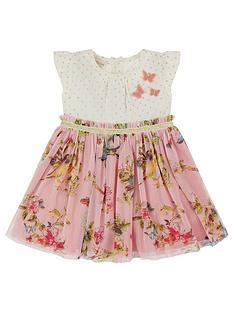 ebdec37183e Monsoon Newborn Baby Hummingbird 2In1 Dress