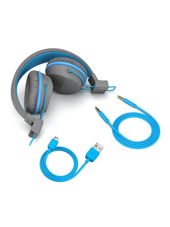 a10c932d348 ... JLab JBUDDIES Studio Bluetooth Wireless Safe Listening Children's On-ear  Headphones, age 6+ - Blue/Grey. Purchased 6 times in the last 48 hrs.