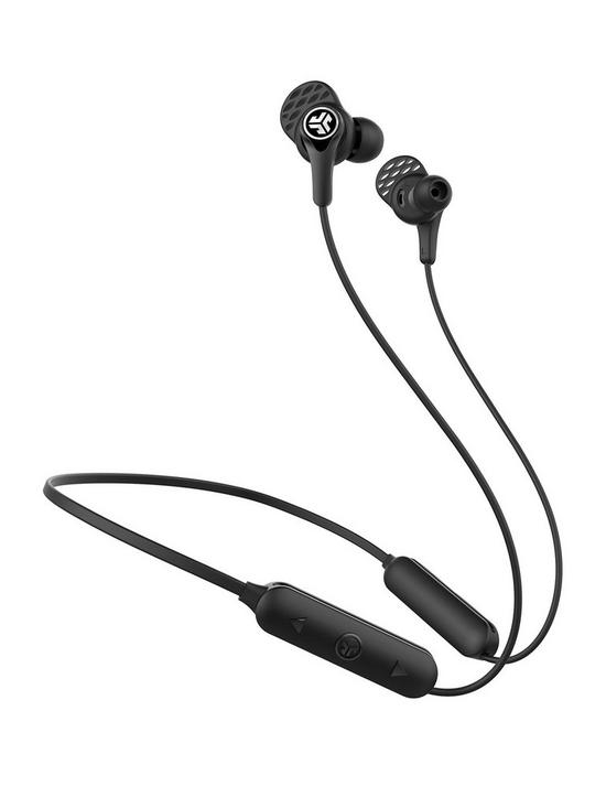 45b7b1abf11 JLab Epic Executive Active Noise Cancelling In-ear Bluetooth Wireless  Earbuds with Built In Mic/Controls - Black