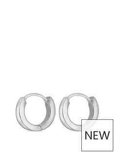 the-love-silver-collection-sterling-silver-mini-huggie-hoop-earrings