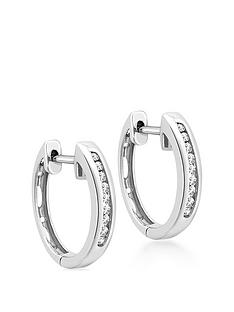 love-diamond-9ct-white-gold-diamond-set-hoop-earrings