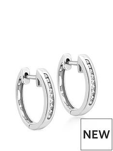 love-diamond-9ct-white-gold-diamond-set-hoop-earrings
