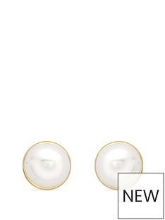 love-gold-9ct-gold-freshwater-pearl-stud-earrings