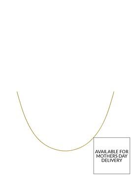 love-gold-9ct-gold-fine-spiga-chain-necklace