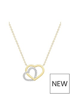 love-gold-9ct-gold-cubic-zirconia-two-tone-interlinked-heart-necklace