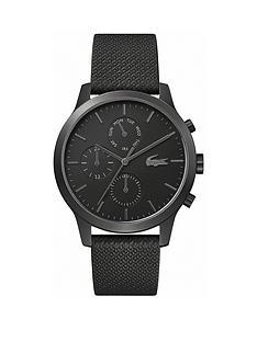 lacoste-lacoste-black-multi-dial-black-silicone-strap-mens-watch
