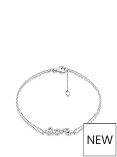 the-love-silver-collection-sterling-silver-cubic-zirconia-love-double-strand-bracelet
