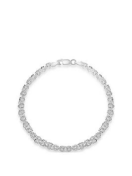 the-love-silver-collection-sterling-silver-interlinked-chain-bracelet