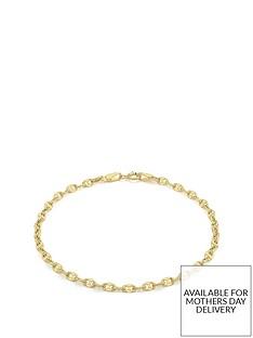 love-gold-9ct-gold-fancy-chain-link-bracelet