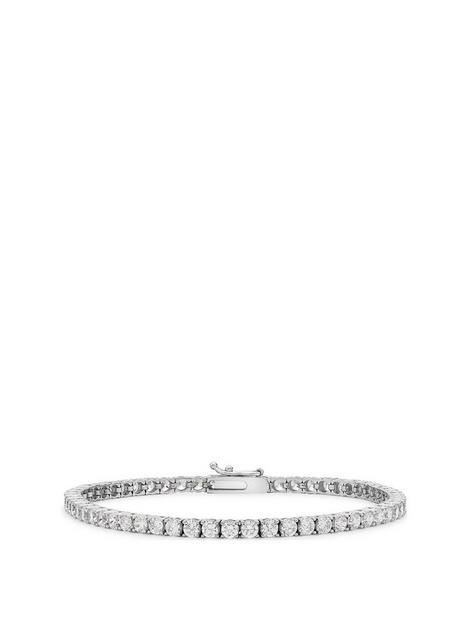 love-gold-9ct-white-gold-cubic-zirconia-tennis-bracelet