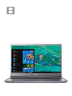 acer-swift-3-intel-core-i7-8550u-8gb-ram-16gb-intel-optane-memory-1000-gb-hdd-156in-laptop-silver
