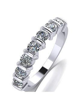 moissanite-platinum-1ct-moissanite-7-stone-eternity-ring