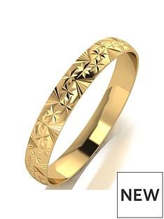 love-gold-9ct-gold-diamond-cut-wedding-band