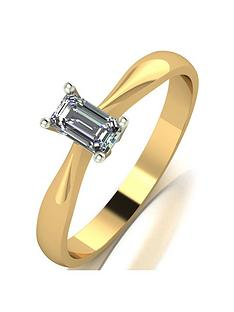 love-diamond-9ct-gold-30-point-diamond-emerald-cut-solitaire-ring