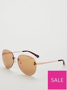 michael-kors-tan-round-sunglasses