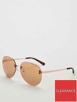 michael-kors-tan-round-sunglasses