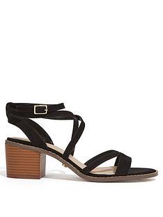 67ed63f23a8 Oasis Ava Strappy Heeled Sandal