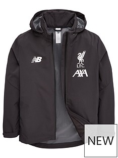 cf555b68 New Balance Liverpool FC Junior 2019/20 Base Storm Jacket - Black