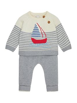 monsoon-newborn-baby-george-knitted-boat-set
