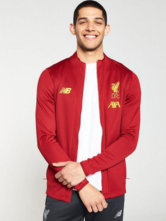5f0d1ab85f5c5 New Balance New Balance Liverpool Fc Mens 19/20 Pre Match Jacket ...