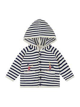 monsoon-newborn-baby-joey-stripe-cardigan