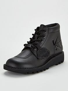 kickers-kick-hi-luxe-ankle-boots-black