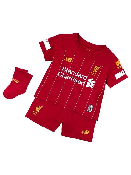 d8a7f1e4 Liverpool FC Baby 2019/20 Home Kit Set - Red