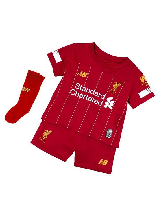 09ad251754f9e New Balance Liverpool Fc Infant 19/20 Home Kit Set