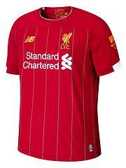 1598fb89256 New Balance Liverpool FC Junior Home 2019/20 Short Sleeved Football Shirt -  Red