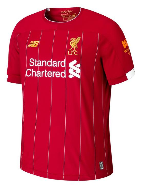 hot sale online ca01e 57713 Liverpool FC Junior Home 2019/20 Short Sleeved Football Shirt - Red