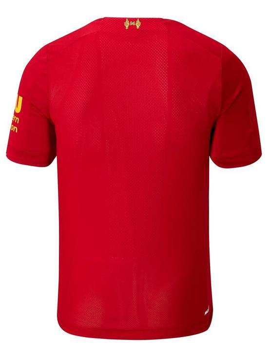 266cf6bf New Balance Liverpool FC Junior Home 2019/20 Short Sleeved Football ...